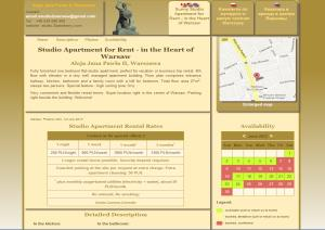Apartment for rent website designed and developwed by SynergicWebs, Ottawa